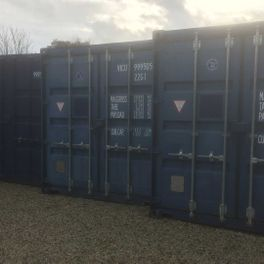 Storage containers that we have available to use